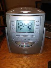 Timex Am/Fm Stereo Clock Radio With Cd Player Model T618 Digita Used