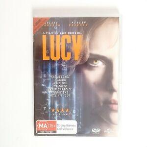 Lucy Movie DVD Region 4 AUS Free Postage - Action Scifi Scarlett Johansson