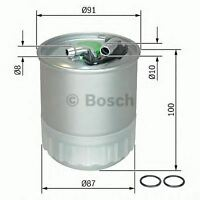 NEW ENGINE FUEL FILTER OE QUALITY REPLACEMENT BOSCH F026402056