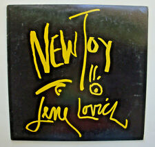 LENE LOVICH ~ New Toy 1981 LP Stiff Records 5E 37452 Rock Electronic New Wave NM