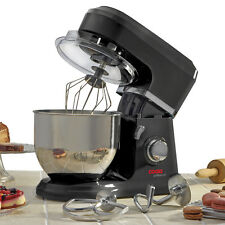 Stand Mixer Electric 6 Speed Food Mixing Bowl Dough Hook Food Splash Guard COOKS