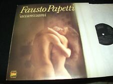 FAUSTO PAPETTI<>ACCAREZZAMI<>Lp Vinyl~Italy Pressing~DURIUM LP.S 40.104