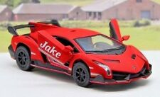 Personalised Name RED Lamborghini Boys Dad Toy Car Present Stocking Filler Gift