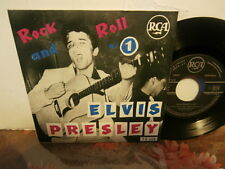 "elvis presley""rock and roll n°1""ep7""or.fr.rca area.biem 75319..2éme verso rare"