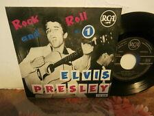 "elvis presley""rock and roll n°1""ep7""or.fr.rca area.biem 75319..2éme verso rare"