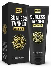 *Premium* Sunless Tanner with Aloe Natural Long Lasting Bronzing Face Body