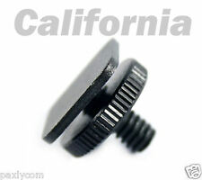 "1/4""-20 Tripod Screw to Flash Hot Shoe Mount Adapter"