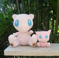 "2Pcs Super Mew Pokemon Center Go Plush Toy Nintendo Game Stuffed Animal Doll 11"""