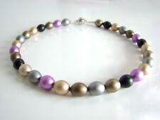 Modeschmuck-Halsketten & -Anhänger für Damen mit Aluminium-Perlen