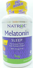 Natrol Melatonin 1 mg SLEEP Fast Dissolve Tablets  200 Tablets Strawberry