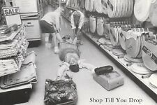"*Postcard-""Shop Till You Drop"" /3 Ladies in Store/ (U2-395)"