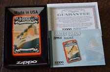 New/Rare ZiPPO Lighter w/ Box; TITANIC 100TH ANNIVERSARY 2011 Limited Edition