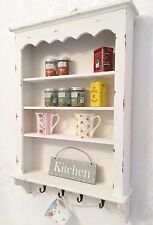 Shabby Chic Wall Shelf Cabinet Unit Cupboard Storage Vintage Kitchen SECONDS