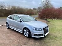 Audi S3 3 door low miles facelift 2009 manual 6 speed stage 1 tuned