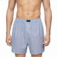 Tommy Hilfiger Mens Underwear Blue Size Small S Boxer Brief Striped NWT 334