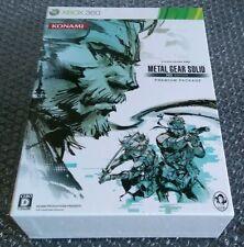 Japonés Xbox 360 Metal Gear Solid HD edición paquete Premium