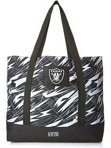 Las Vegas Raiders NFL Shatter Print Tote Bag