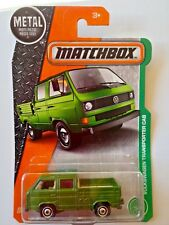 Matchbox VW Volkswagen T25 Transporter Double Cab Pickup Truck - green