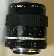 Nikon Micro-Nikkor 55mm f2.8 Lens 530111