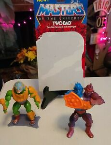 MOTU Masters of the Universe 1981  Man At Arms, round back Two Bad final price