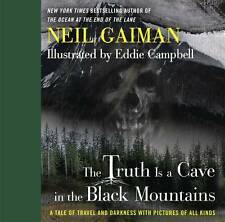 THE TRUTH IS A CAVE IN THE BLACK MOUNTAINS HARDCOVER Neil Gaiman Comics HC