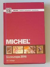Michel Briefmarken Katalog Südeuropa 2016 EK 3 - Neuwertig