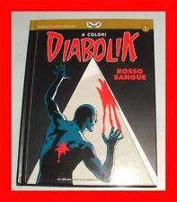 LIBRO/BOOK FUMETTI A COLORI  DIABOLIK-SPECIALE ROSSO SANGUE ginko,eva kant,album