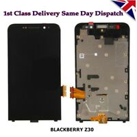 Original Blackberry Z30 LCD Screen Display & Touch Digitizer Assembly + Frame