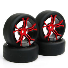 RC 4X Flat Drift Tire&Wheel MPNKR 12mm Hex For HSP HPI 1:10 On-Road Car