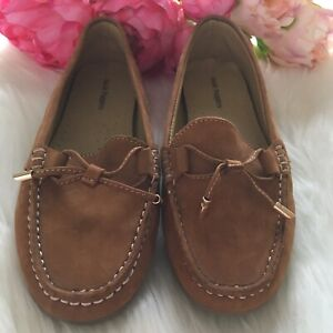 Women's, Hush Puppies, Size 5, Tan, Loafers, Leather, Driving Shoes, Comfort.