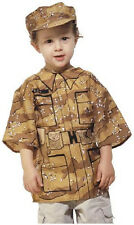 NEW!! Desert Soldier Costume Size L (ages 7-12)