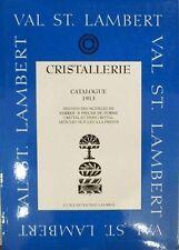 BOEK : VAL SAINT LAMBERT ( ST VSL) 1913 & 1924 (LUXVAL)  (vaas,glas,karaf …)
