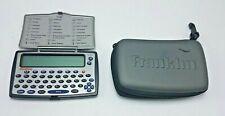 Franklin TG-450 12 European Language Electronic Translator w  Case FRESH BATTERY