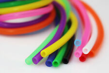 11 colors Silicone Tube 3mmX5mm 10 inch Fly Tubing Fly Tying Tubes Materials