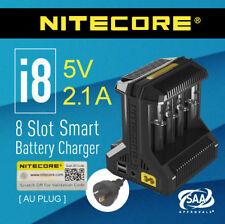 Nitecore i8 Intelligent Universal 8 Slot Battery Charger 18650 Li-ion NiMh NiCd