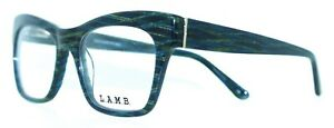 L.A.M.B GWEN STEFANI - LA031 NAV 53/16 - NAVY NEW Authentic WOMEN EYEGLASSES