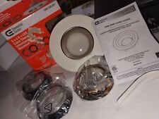 Commercial Electric 5 and 6 inch Recessed LED Interchangeable 4 trim styles incl