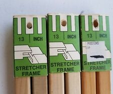 HOWELL 3 SETS wood STRETCHER BARS size 13 Art Crewel Needlepoint Embroidery