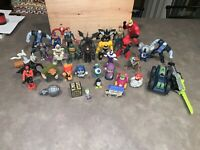 McDonald's Happy Meal Huge Toy Lot Marvel Comic Figures Transformers And More