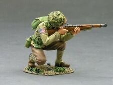 "King & country DD083:""Kneeling rifleman"" 82nd airborne"