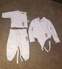 New listing Shanghai 350NW Fencing Uniform Suit - Pants Jacket Vest Set Brand New Size 44
