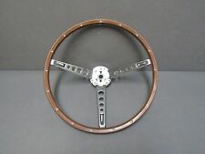 65 66 Ford Mustang steering wheel woodgrain 66 Fairlane