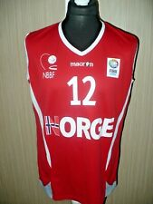 NORWAY NORGE Basketball macron shirt jersey Fiba #12 (XL)