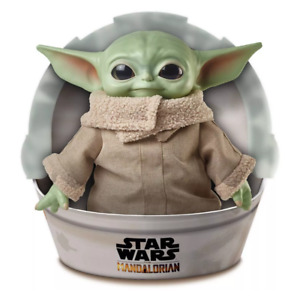 "Mattel Star Wars The Mandalorian The Child Baby Yoda 11"" Plush Soft Toy Doll"