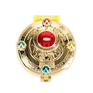Sailor Moon 20th Anniversary Compact Gashapon Specchietto Henshin Brooch Bandai★