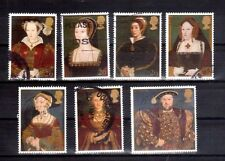 GREAT BRITAIN 1997 King Henry VIII set used