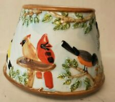 Candle Jar Shade Topper Small Birds