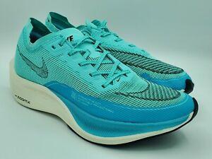 Nike ZoomX Vaporfly NEXT% 2 Racing Aurora Green CU4123-300 Size 9