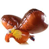XXL Helium Folienballon Adler fliegende Vogel Zoo Voliere Deko Garten Geschenk