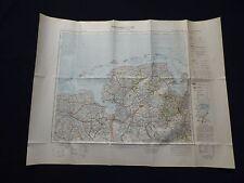 Landkarte von Mitteleuropa 1:300 000, K 54 Oldenburg, Wilhelmshaven, 1940
